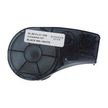 M21-1500-427 Printer Lint Label Tape RL-BD-FX--21-1500 Zwart Op Wit Compatibel BMP21 Plus Id Pal En Labpal Label