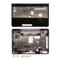 Laptop abdeckung fur DELL Inspiron 15R N5110 M5110 39D-00ZD-A00 Bottom Fall Abdeckung Mit lautsprecher Ohne lautsprecher   Palmrest oberen abdeckung