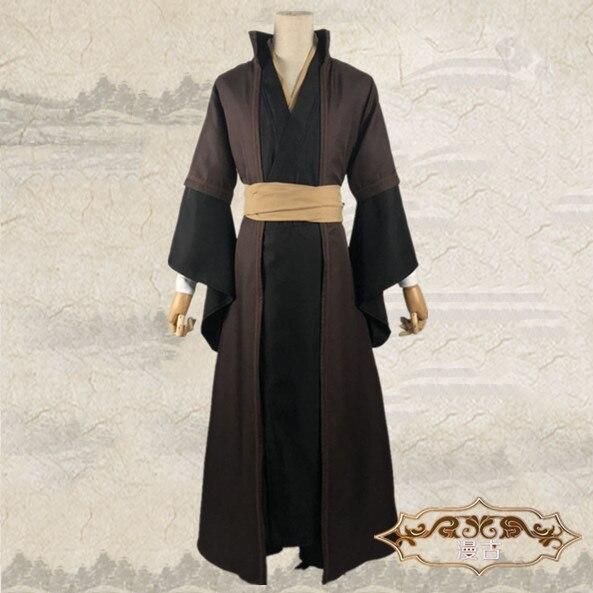 Unisex Mo Dao Zu Shi Cosplay Xue Yang gran maestro de demoníaco cultivo traje conjunto completo hombres Anime XueYang peluca Anicient vestido