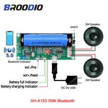 Versterker Audio Board Lithium Batterij Houder Kan Opgeladen Dual Channel 2*3*5W PAM8403 Stereo Klasse D amplificador Diy Tf Card