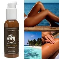 100ml tanning lotion beach imitation sun wheat skin bronze sunless lotion