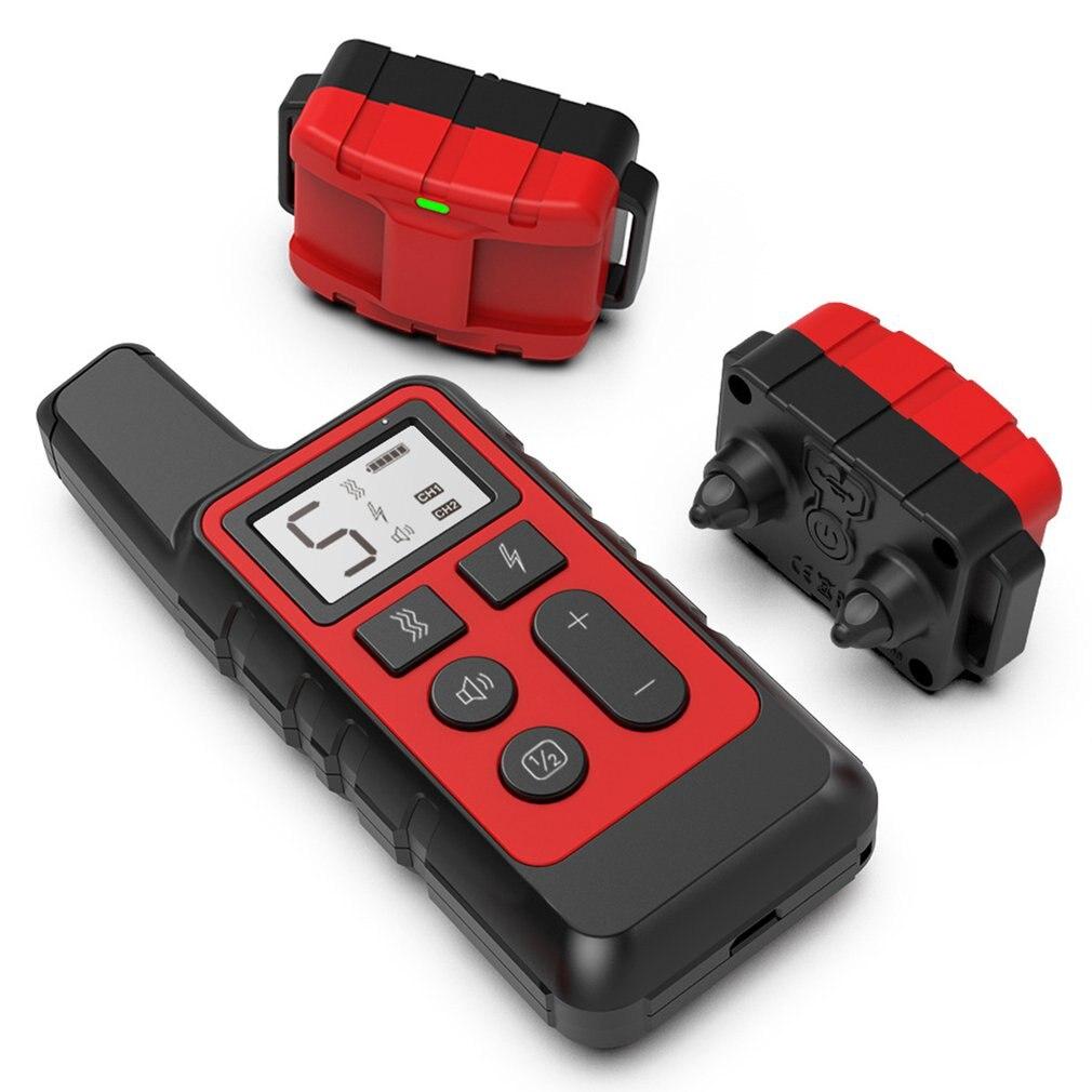 Light Remote Dog Training Device Dog Training Collar Waterproof Remote Training Collar USB Rechargeable training