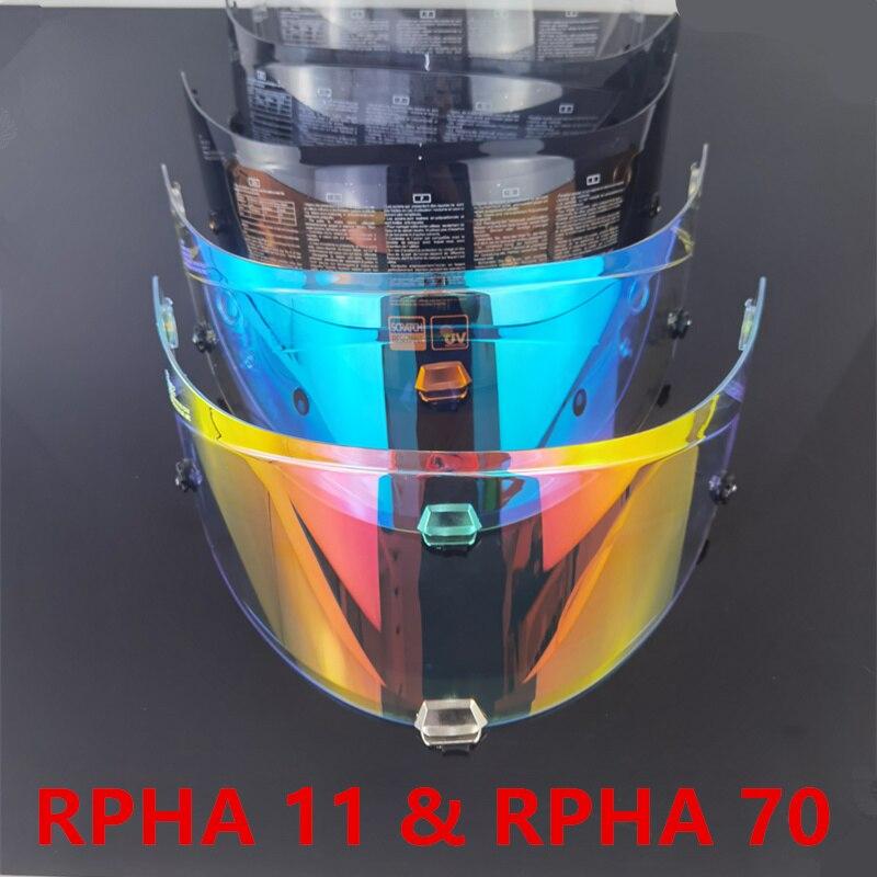 Venom دراجة نارية خوذة قناع ل RPHA 11 و RPHA 70 خوذة لكامل الوجه الزجاج الأمامي HJ-26 كاسكو موتو دراجة نارية الملحقات