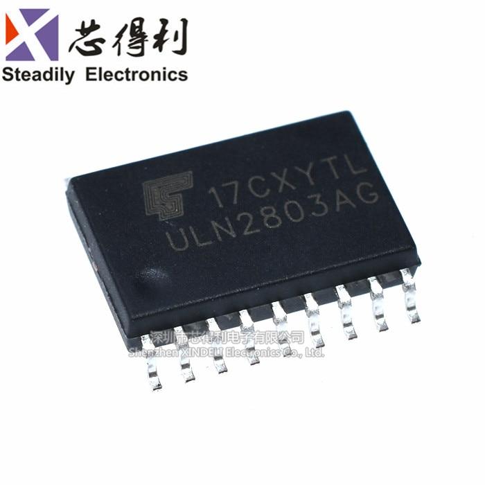 10 Stks/partij Uln2803ag Darnington Transistor Sop-18 Wide Body Nieuwe Uln2803afwg