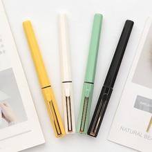 Straight Liquid Neutral Pen Random Color 0.5mm Full Needle Tube for Student Examination Ball Pen Signature Pen