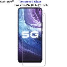 For vivo Z6 5G Full Cover Tempered Glass 9H 2.5D Premium Screen Protector Film For vivo Z6 5G 6.57