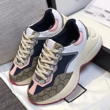 Original 2021, G family Old Shoes Women New Unisex Fashion Sneakers Men Trainers Women Comfy Thick B