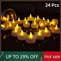 flameless led tealight candles battery operated warm white flameless pillar candle bluk for romantic decorations home decor