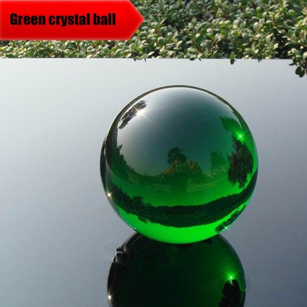 35 мм-капельки прозрачно-зеленого цвета с украшением в виде кристаллов шар Lucky Радуга фото хрустальный шар Стекло мяч хрустальный шар шарик д...