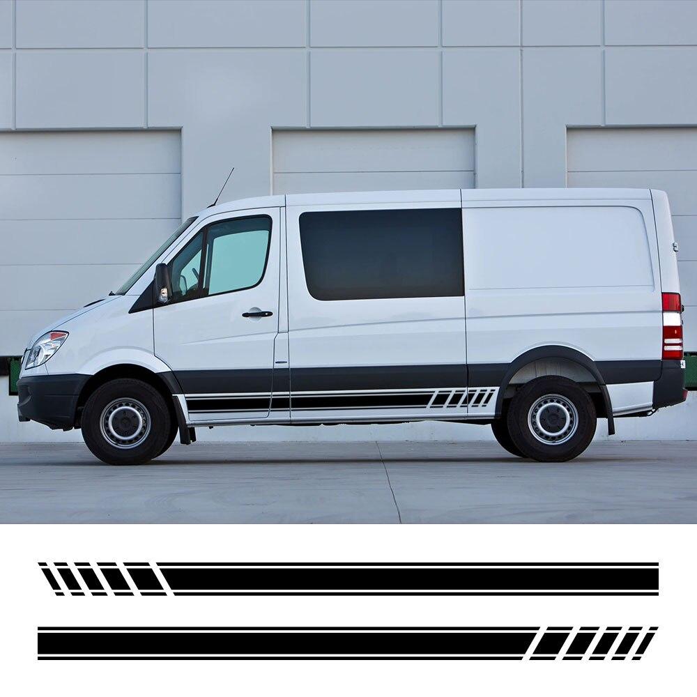 Pegatinas para autocaravana y furgoneta, calcomanías gráficas artesanales para Mercedes Benz Sprinter...
