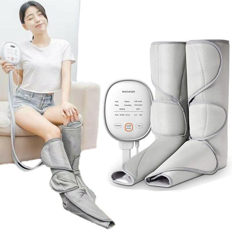 مدلك ضغط الهواء للساق ، جهاز الدورة الدموية ، علاج أعصاب ربلة الساق ، 3 شدة و 6 أوضاع
