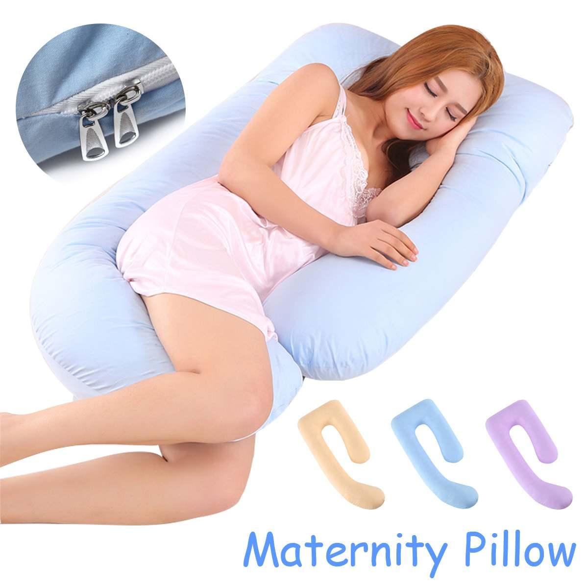 40x30x18 سنتيمتر U-شكل وسادة حمل كبيرة مريحة حزام الأمهات المرضعات الجسم وسادة حمل النساء الحوامل الجانب النائم وسادة