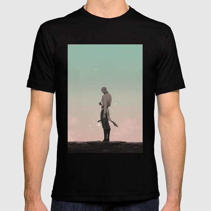 Camiseta Foolish Love dragón edad Inquisición Solas Romance elfo Flor de fantasía amor