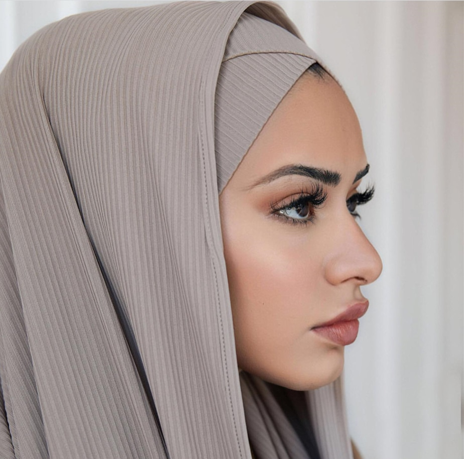 Bufanda para mujeres musulmanas hijabs Jersey chal hijeb femme África diadema largo Islam underbufandas Sjaal