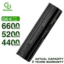 Golooloo 11.1V batterie pour Compaq Presario MU06 G6 g62 G7 CQ70 HSTNN-YB0X MU09 NBP6A174B1 NBP6A175 HSTNN-YB0W WD548AA 593553-001
