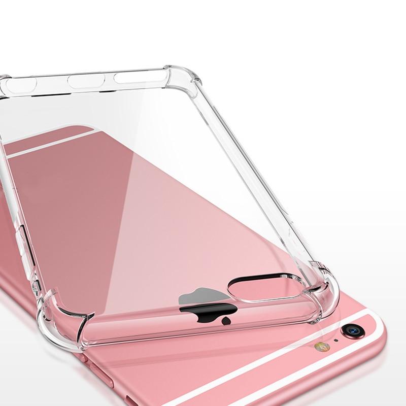 Para iphone se 2020 caso para iphone se 2020 capa de borracha silicone macio capa para iphone 6 7 8 plus x xr xs max 11 pro se 2 fundas