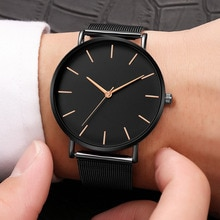Kobiety Watch złota róża Montre Femme 2020 kobiet pasek z siatki ultra cienkie, modne relojes para mujer luksusowe zegarki na rękę reloj mujer