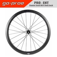 go proe ent road disc carbon wheelset 38 50 60 82mm ud finish clincher tubeless ready cycling center lock or 6 bolt lock hub