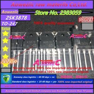 Image 1 - Aoweziic 2020 + 100 новый импортный оригинальный K3878 2SK3878 TO 247 N Channel MOS тип импульсный регулятор приложения 9A 900V