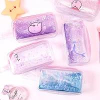 kawaii pencil case transparent gift estuches school pencil box for girl pencilcase pencil bag school supplies stationery