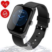 Wonlex Fitness Tracker IP67 impermeable para nadar, reloj inteligente con presión arterial, sueño, calorías y pulsómetro regalo
