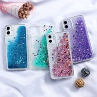 quicksand phone case for iphone 12 11 pro max xr xs x 6 6s 7 8 plus se case dynamic liquid cover for iphone 11 pro 12 mini cases