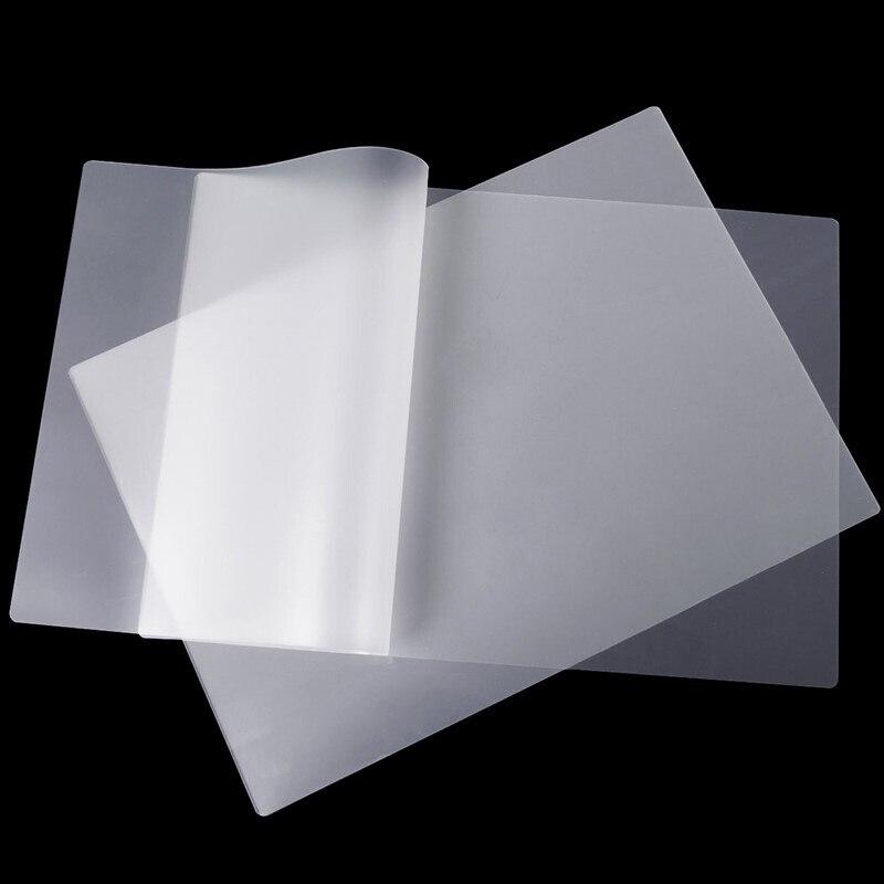 100 قطعة A3 حجم PET نقل فيلم DTF مباشرة إلى طبع أغشية نقل الحرارة PET فيلم للطباعة ونقل شحن مجاني