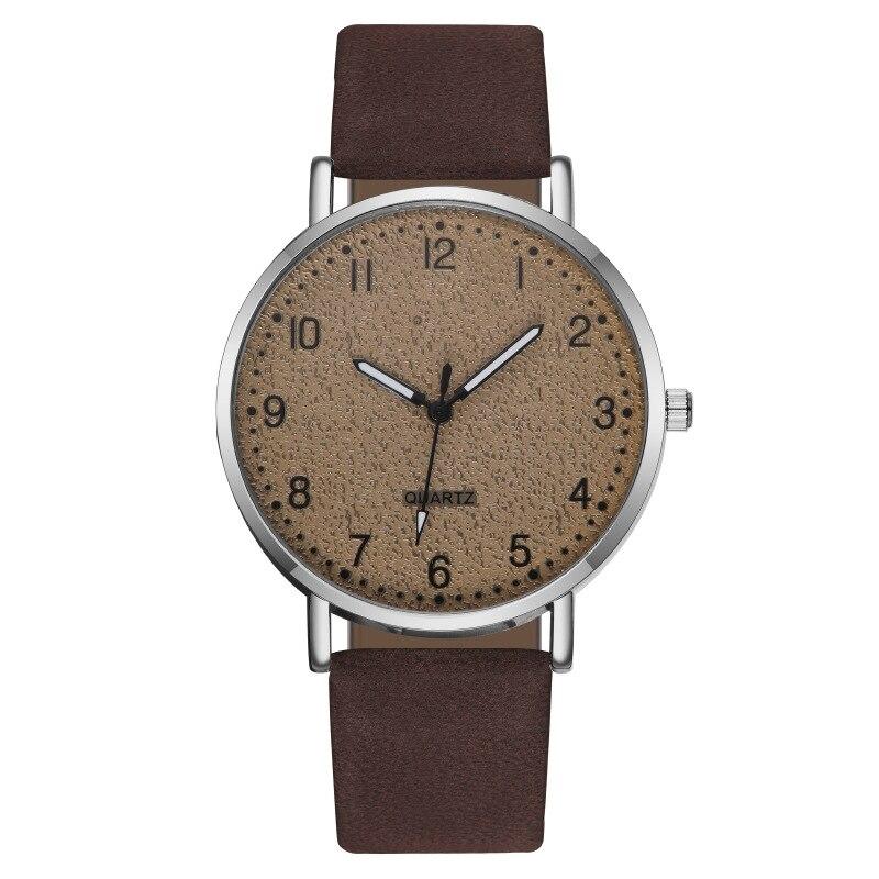 MREURIO Women's Watch Arabic Numerals Matte Watch Surface Casual Ultra Thin Watch for Women Minimalist Quartz Watch enlarge