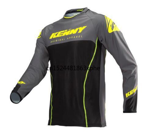 2020 NOVO KENNY Motocross MTB Off-road T-shirt roupas Camisa Motocicleta Moto Passeio de Bicicleta Longa-Camisa de manga Jaquetaelectric
