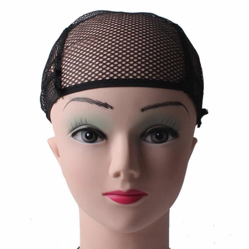 10pcs-cappuccio-parrucca-traspirante-nero-biondo-hairnet-regolabile-in-nylon-intrecciato-parrucca-parrucca-con-cinturini-in-pizzo-per-fare-parrucca