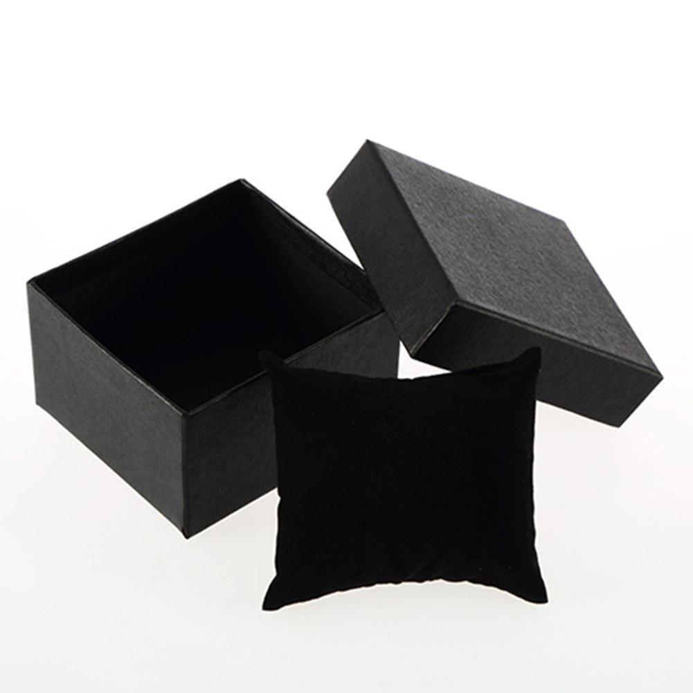 Joyería de moda del Brazalete reloj caja de almacenamiento de exhibición regalo caja de embalaje cajas de reloj caja de almacenamiento organizador de joyería de lujo Ri