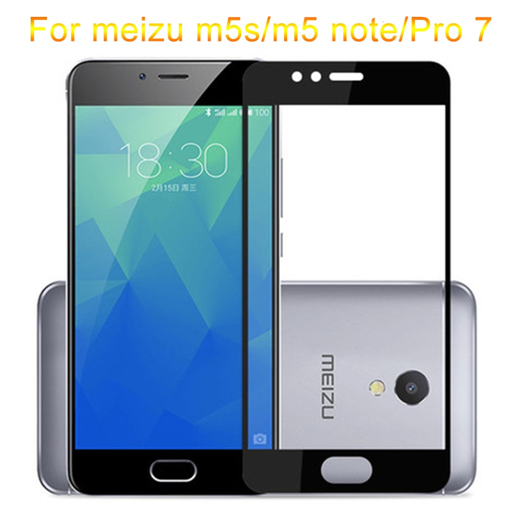 Protect Glass For Meizu Pro 7 Tempered Glas Case On Meizy Maizu Maisie m5s m5 Note m 5 Not m5note Pr