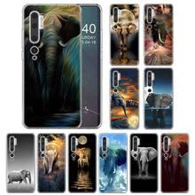 Silicone Cases for Xiaomi Mi CC9 CC9e 9 9T Pro Note 10 Pro 8 Lite 9 Lite 5X 6X A1 A2 Lite Cover Totem Elephant Aztec