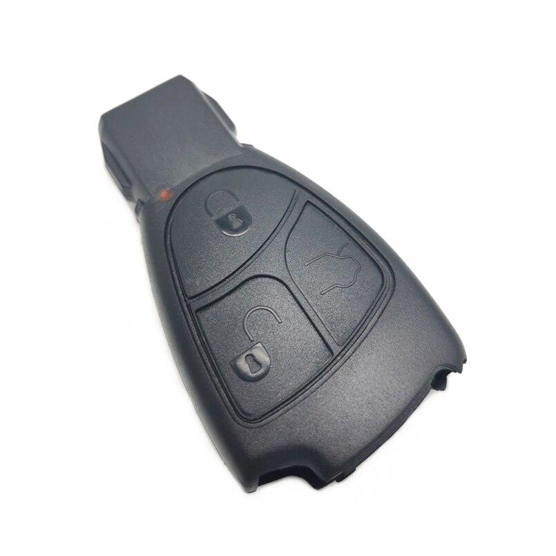 Carcasa de llave de coche Datong World para Mercedes Benz C B E Class W203 W211 W204 YU BN CLS CLK 3 4, botón de reemplazo de llave ciega inteligente