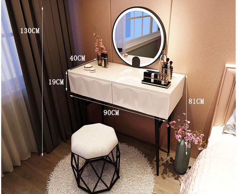 Nordic туалетный столик современный контракт веб-знаменитости INS туалетный столик/туалетный столик лампа для спальни малые формы туалетный ст...