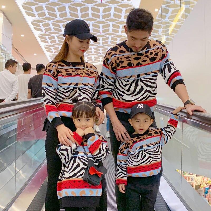 سترات للأطفال الأولاد باللون الأحمر الفهد لأعياد الميلاد Pjs ملابس عائلية مطابقة للأب والصغير من ماركة Ne ملابس الأب وابنته
