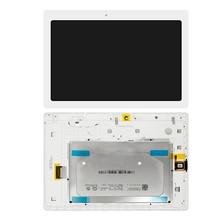 Per Lenovo Tab 2 A10-30 YT3-X30 X30F TB2-X30F TB2-X30L a6500 Display Pannello LCD Combo Touch Screen In Vetro Sensor Parti di Ricambio