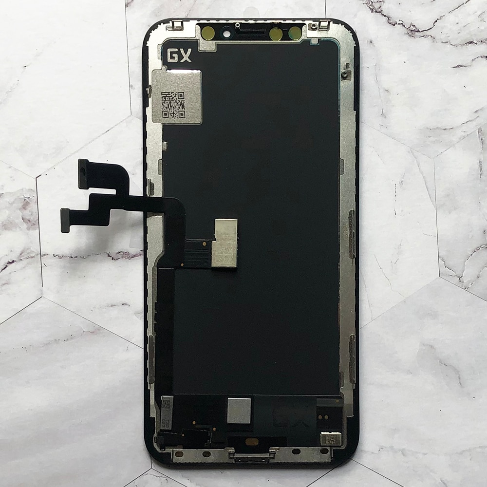 Soft Oled For iPhone X OLED LCD Display GX For IPhone XS max oled Touch Screen For Digitizer Replacement Assembly 3D touch enlarge