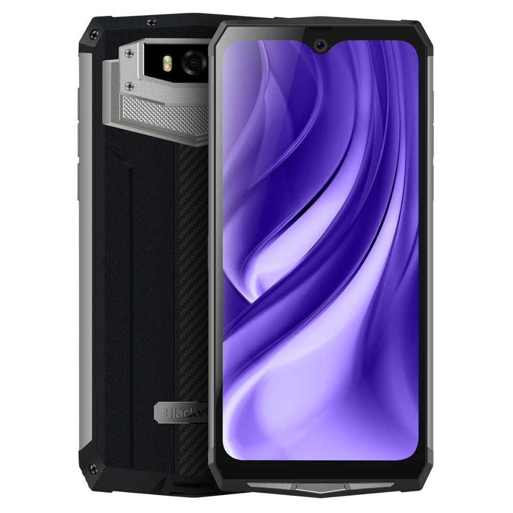 Blackview BV9100 смартфон с 5,5-дюймовым дисплеем, восьмиядерным процессором MT6765, ОЗУ 4 Гб, ПЗУ 64 ГБ, 9,0 мАч, Android 6,3