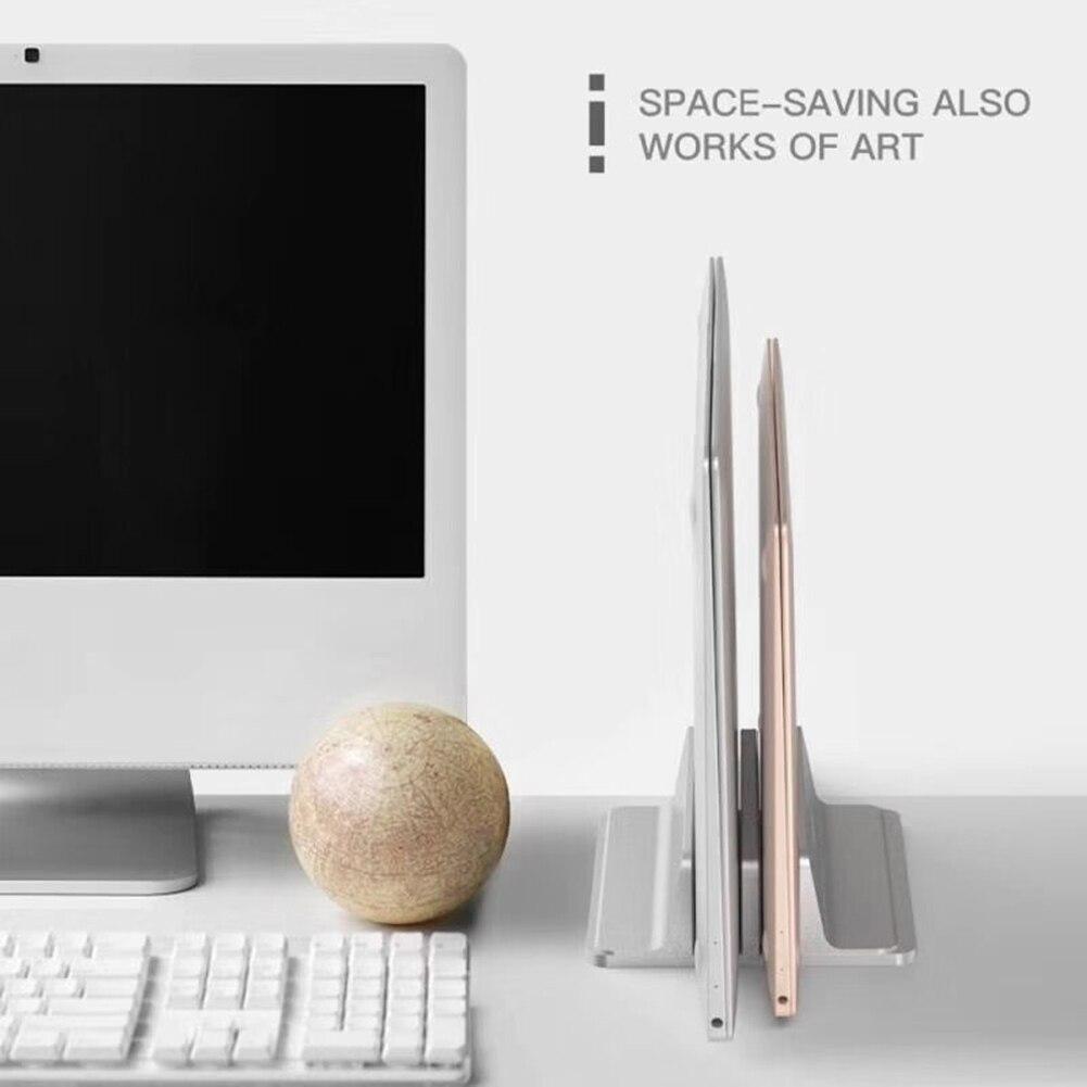 محمول عمودي محمول قوس دفتر حامل دعم منضدة قابل للضبط كتاب لقطع غيار الكمبيوتر المنزلية