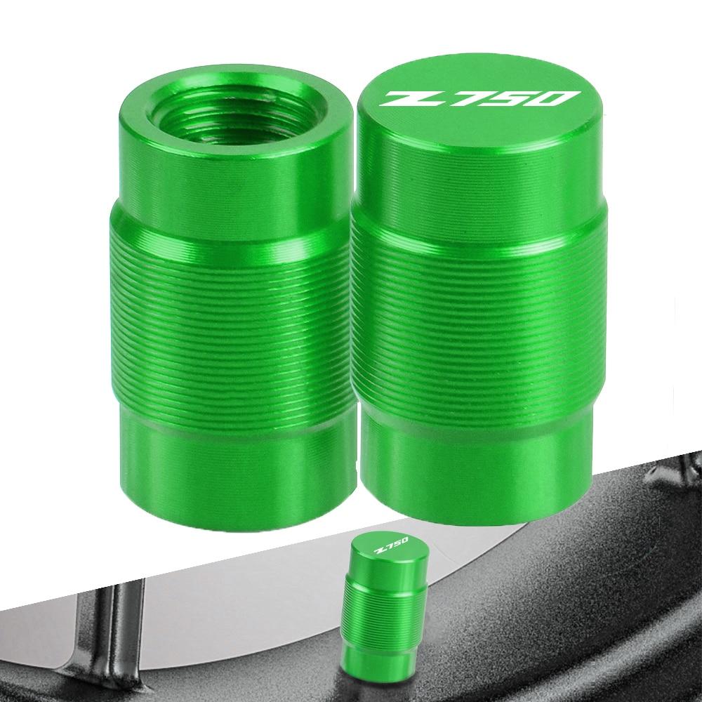 For KAWASAKI Z750 Z 750 2012-2016 2013 2014 2015 2017 2018 2019 2020 Motorcycle Wheel Tire Valve Stem Caps CNC Airtight cover