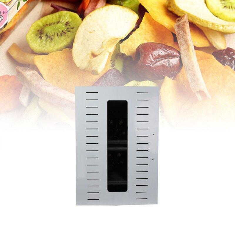 مجفف الطعام للفواكه المجففة ، للاستخدام المنزلي والتجاري ، مع شاشة لمس ذكية ، سعة 16 طبقة ، مع إضاءة باب مرئي
