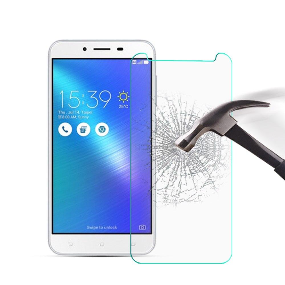 Para asus zenfone 3 max zc600kl temperado filme de segurança de vidro 9 h 2.5d 5.5 polegada tela protetor filme em zc 600 kl zc600 kl