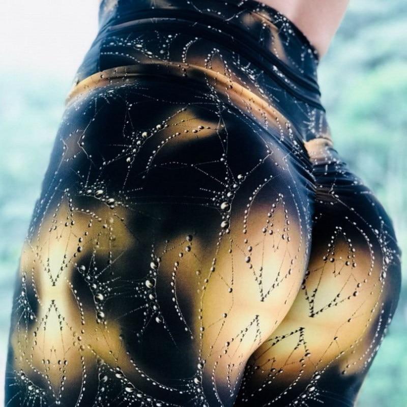 SVOKOR Leggings Sexy Sport femmes Fitness jegging pousser élastique taille haute Leggings femme entraînement mode pantalon