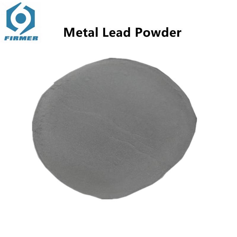 Metal Lead Powder Pb Powder Pb 4N High Purity 99.9% Counterweight Element Metal Ultrafine Powder