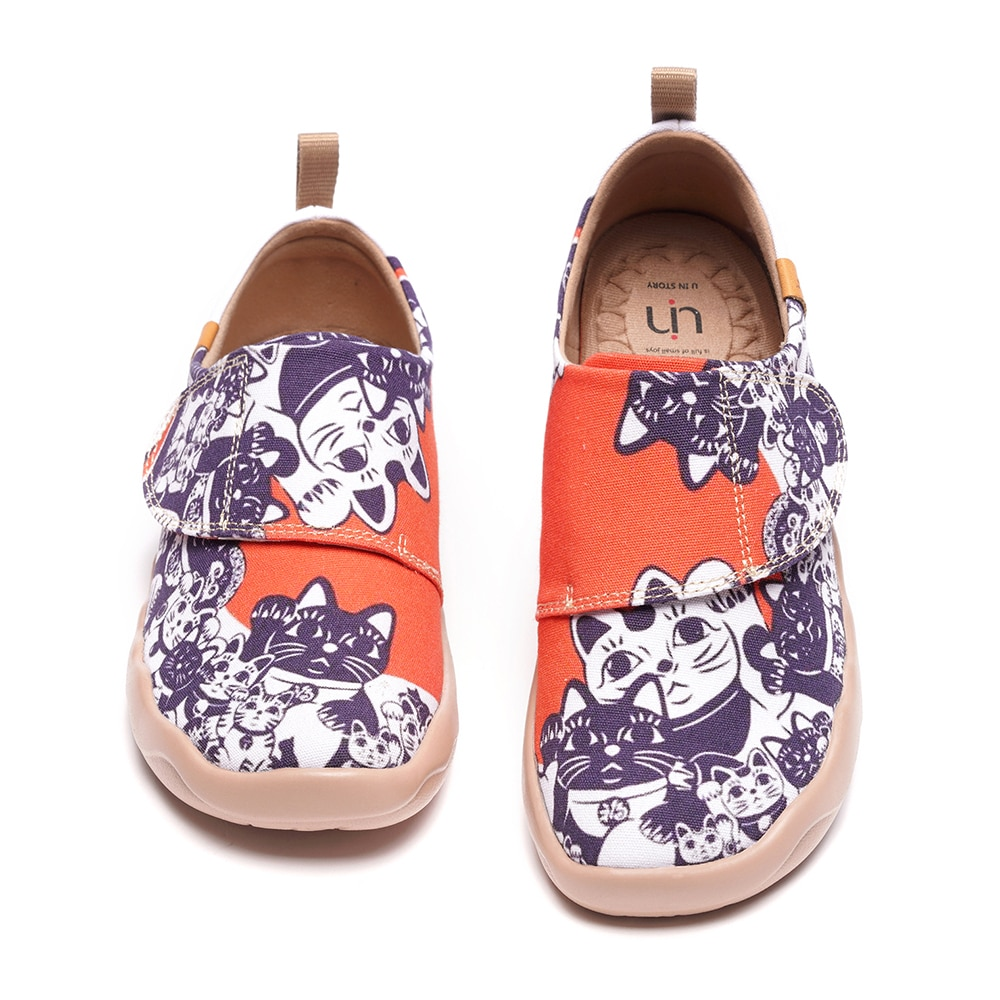 UIN Children Canvas Shoes Girls Sneakers High Top Boys Shoes 2020 New Spring Autumn Fashion Sneakers Kids Casual Shoes Footwear enlarge