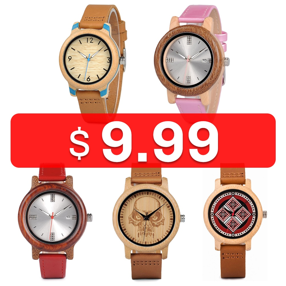 AliExpress - BOBO BIRD Wooden Men's Watches Relogio Masculino Women Top Wristwatch Couple Watches With Leather Band Silicone Strap Great Gift