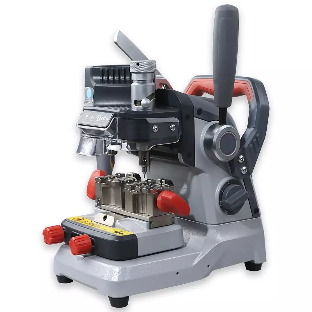 XP007 Manually Key Cutting Machine for Laser Dimple and Flat Keys Cutter