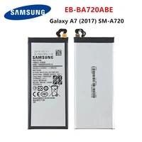 samsung orginal eb ba720abe 3600mah battery for samsung galaxy a7 2017 version a720 sm a720 a720f sm a720s a720fds
