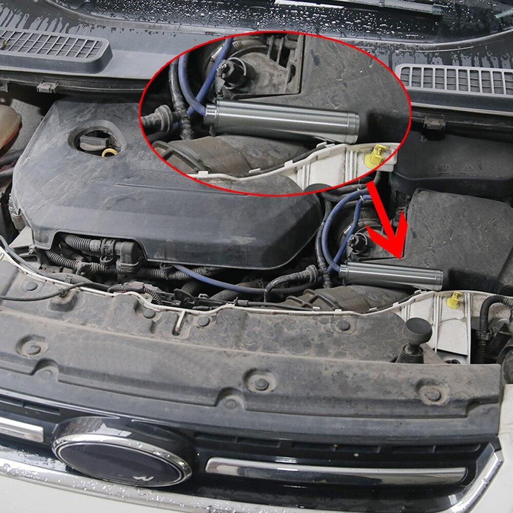 """Aluminum 12"""" 10"""" 6"""" Extension Spiral 1/2-20 1/2-28 5/8-24 M14*1 M14*1L Car Fuel Filter Car Solvent Trap for NAPA 4003 WIX 24003"""